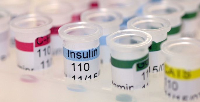 Insulin in vials