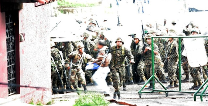 Coup in Honduras