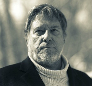 Black-and-white head shot of Jonathan Lamb (Gerald Figal)