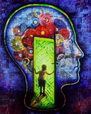 Conceptual brain art