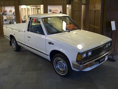 1980s Nissan truck