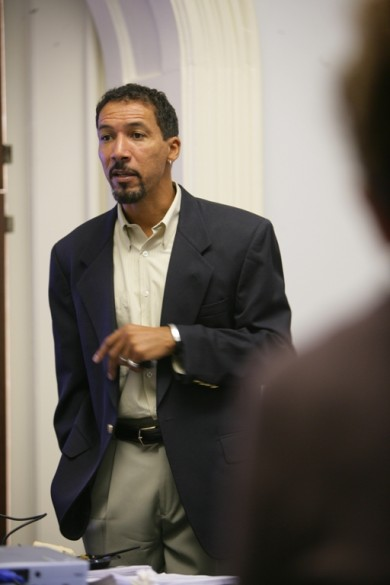Gilman Whiting, associate professor of African American and Diaspora Studies (Vanderbilt University)