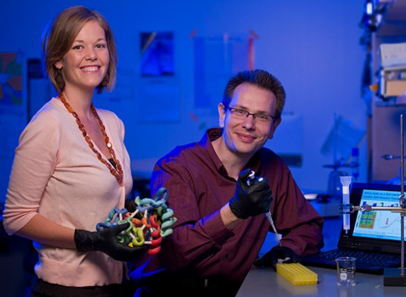 Jens Meiler and Carrie Fortenberry