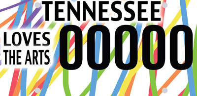 Art professor's design among finalists for new Tennessee license