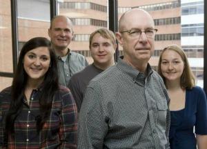 Larry Marnett and team