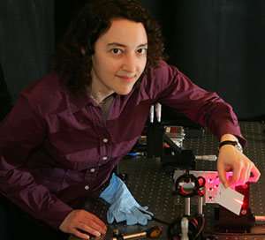 Electrical Engineering Professor Sharon Weiss (Neil Brake / Vanderbilt University)