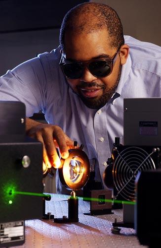 Assistant Professor of Physics James Dickerson (Daniel Dubois/Vanderbilt University)