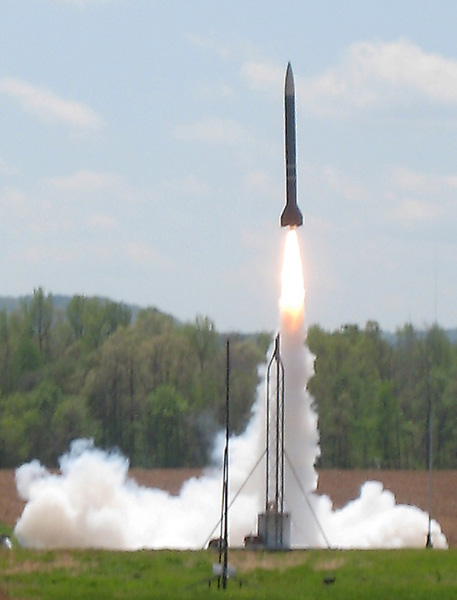 Vandy rocket launch USLI09