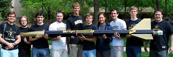 Vandy Aerospace Club members