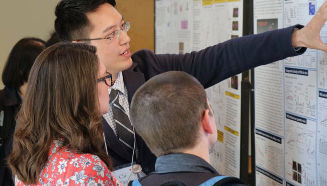 Photo for Yohn named Postdoc of the Year at annual symposium; Sappington named Mentor of the Year
