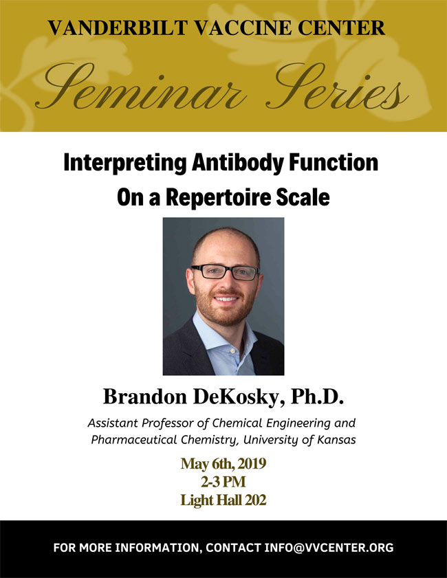Brandon DeKosky poster