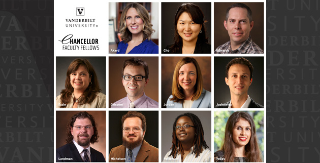 Chancellor Faculty Fellows 2019