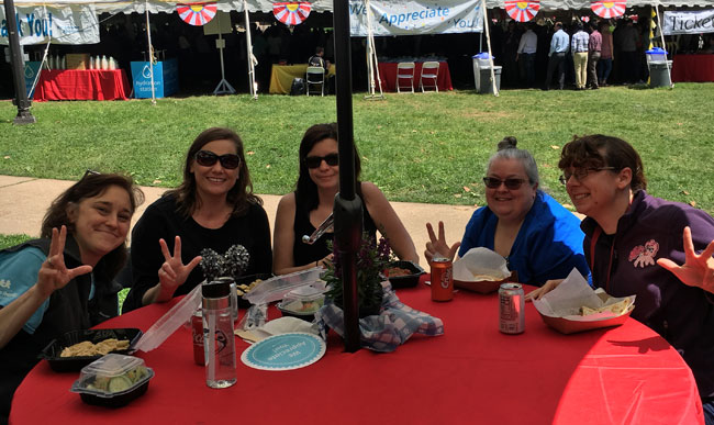Annual picnic brings out employees for food, fun