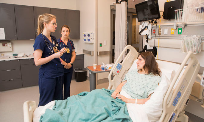 In Vanderbilt's new simulation lab, nursing and divinity students train together