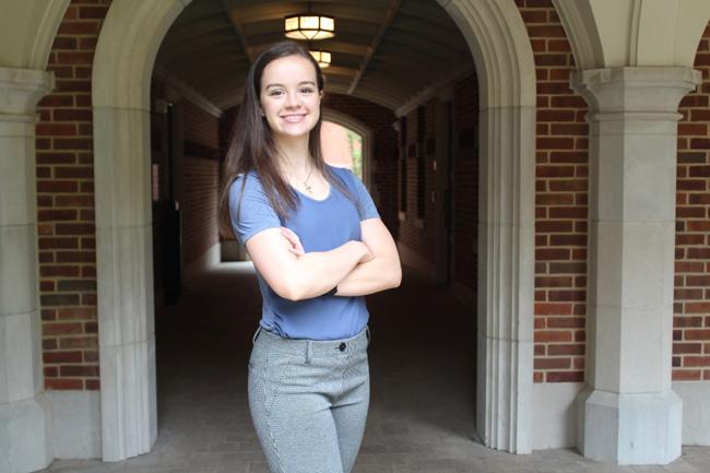 Vanderbilt sophomore Rachel Strons has received a SMART Scholarship, a program sponsored by the U.S. Department of Defense. (Vanderbilt University)