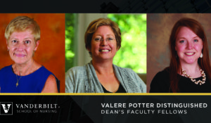 Nursing faculty named Valere Potter Distinguished Dean's Faculty Fellows