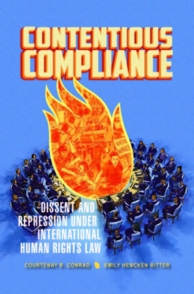 Contentious Compliance book cover