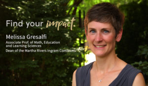 New dean of The Ingram Commons changing mindsets around math learning