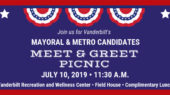 Vanderbilt to host meet-and-greet picnic for mayoral, Metro Council candidates July 10