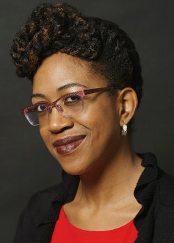 headshot of Ifeoma Nwankwo, associate professor of English and American studies