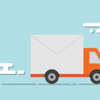 Microsoft Office 365 truck illustration
