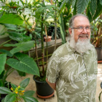 Jonathan Ertelt, greenhouse manager, Department of Biological Sciences (John Russell/Vanderbilt)