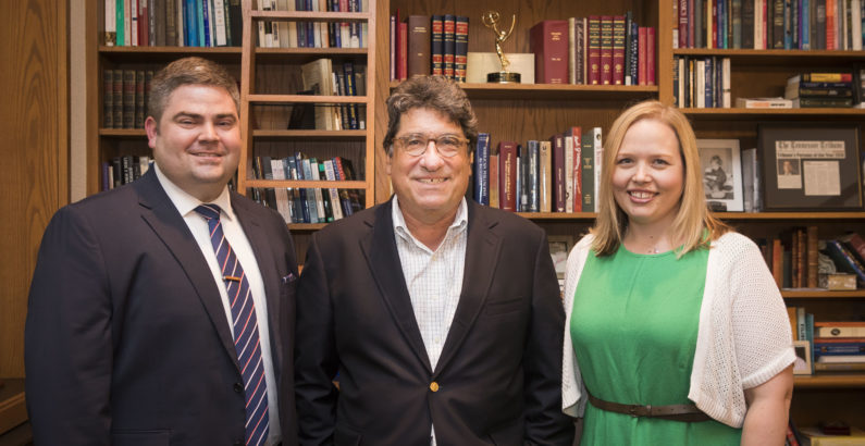Chancellor Zeppos honored by university staff