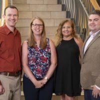 University Staff Advisory Council Officers. (Joe Howell/Vanderbilt University)