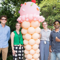 Thousands of university employees showed up for frozen treats at Vandy Chills, the annual Employee Appreciation event, on Aug. 8. (Vanderbilt University)