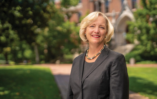 Watch: Getting to know Interim Chancellor and Provost Susan R. Wente
