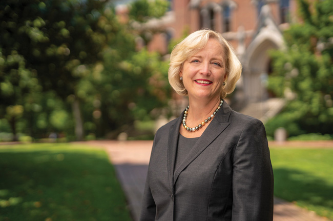 Interim Chancellor and Provost Susan R. Wente (Vanderbilt University)