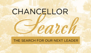 Chancellor Search feedback opportunities set for Aug. 26-30