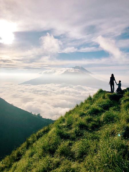 """Sunrise Hike at Mt. Batur in Bali"" by Ana Darielle Nunez"