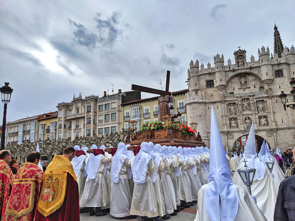 """Holy Week Procession in Burgos"" by Emily Larson"
