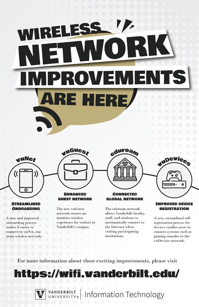 VUIT Wi-Fi improvements flyer