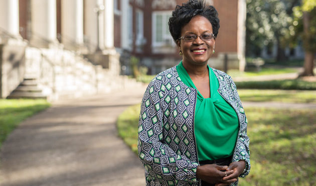 Photo for Sandra L. Barnes receives Cox-Johnson-Frazier Award