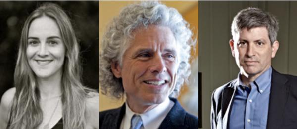 Amanda Little, Steven Pinker, Carl Zimmer