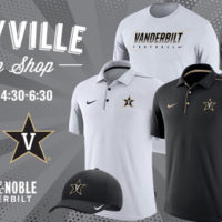 Get discount on VU apparel at Vandyville pop-up shop