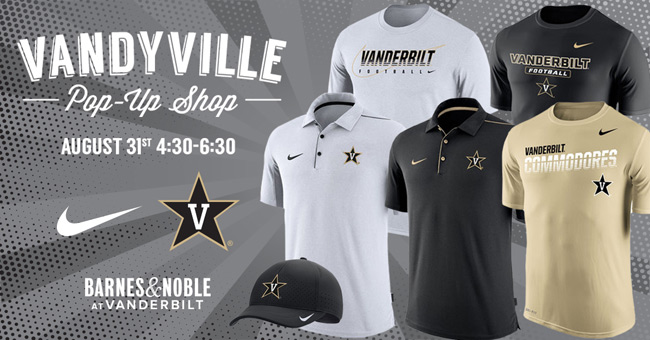 Get discount on VU apparel at Vandyville pop-up shop