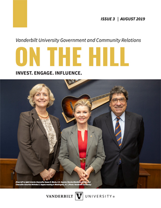 """On the Hill"" Issue 3 cover"
