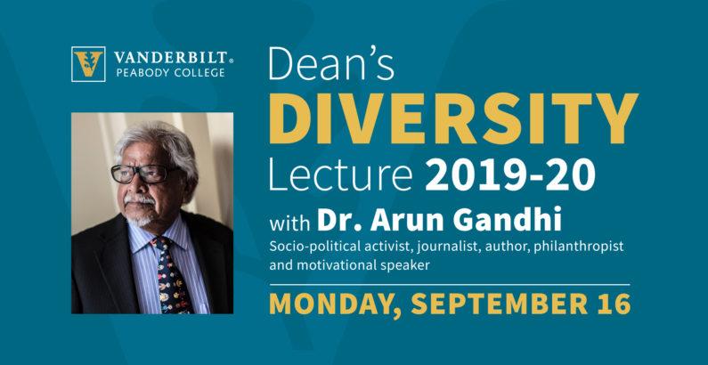 Grandson of Mahatma Gandhi to speak at Vanderbilt Sept. 16