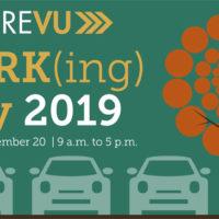 FutureVU Parking Day 2019 event graphic