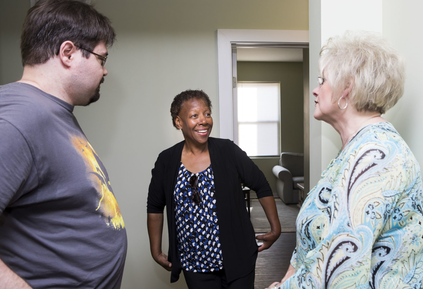 Our Place Nashville officially opened a new house in the Chestnut Hill area, bringing the Friendship House community in Nashville to a total of 51 residents. (Susan Urmy/Vanderbilt)