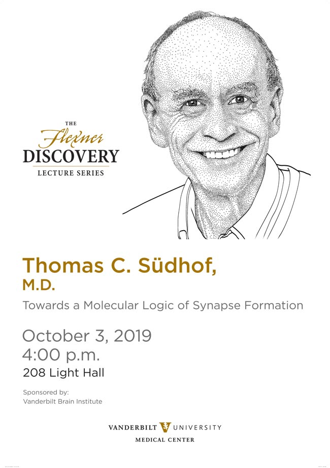 Thomas Sudhof Flexner Discovery Lecture poster