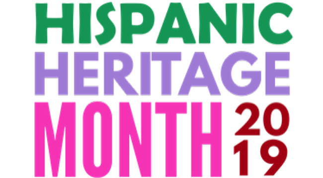 Hispanic heritage Month 2019 logo