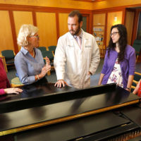 An interdisciplinary group of Vanderbilt researchers is launching a pilot study regarding the effect of live music on patients, families and staff in the VUMC adult intensive care unit and is inviting musical members of the Vanderbilt community to help.