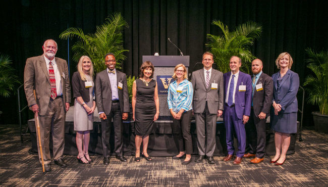 Photo for Eight new endowed chair holders honored