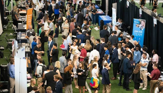Photo for Vanderbilt Career Center hosts largest Career Fair yet, networking events, inclusivity discussion, more