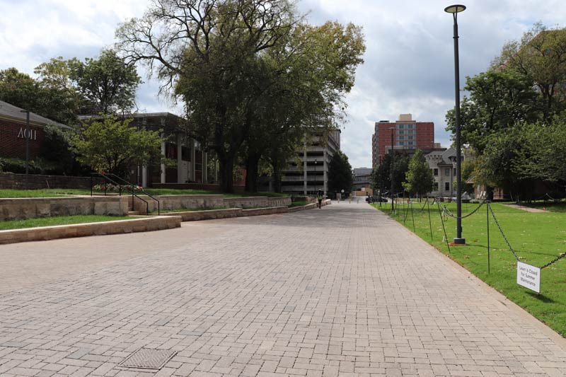 The Kensington Promenade in the West End Neighborhood. (Vanderbilt University)