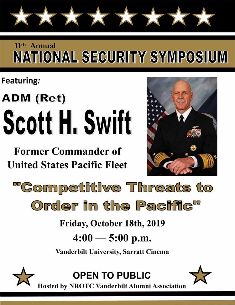 11th annual National Security Symposium flyer
